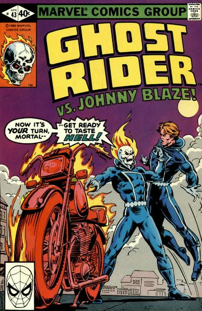 Cover for Ghost Rider (Marvel, 1973 series) #43 [Direct]
