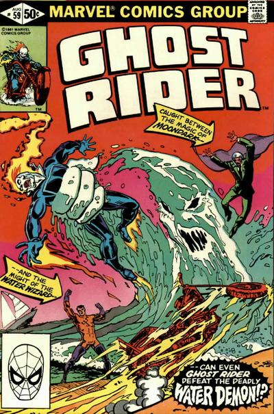 Cover for Ghost Rider (Marvel, 1973 series) #59 [Direct Edition]