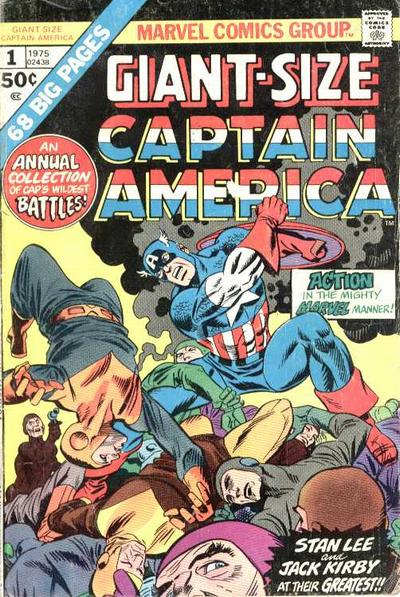 Cover for Giant-Size Captain America (Marvel, 1975 series) #1