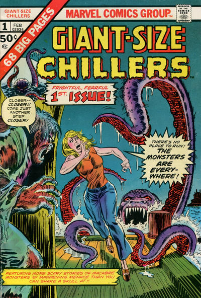 Cover for Giant-Size Chillers (Marvel, 1975 series) #1