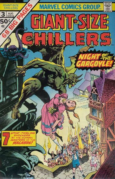Cover for Giant-Size Chillers (Marvel, 1975 series) #3