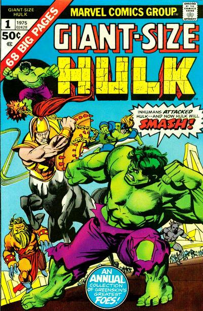 Cover for Giant-Size Hulk (Marvel, 1975 series) #1