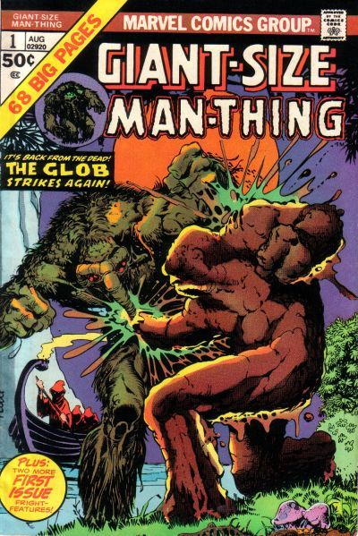 Cover for Giant-Size Man-Thing (Marvel, 1974 series) #1