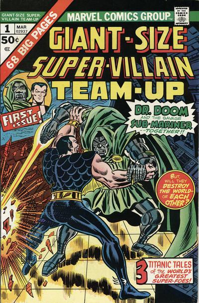 Cover for Giant-Size Super-Villain Team-Up (Marvel, 1975 series) #1
