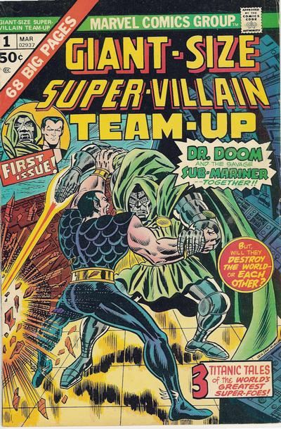 Cover for Giant-Size Super-Villain Team-Up (Marvel, 1975 series) #1