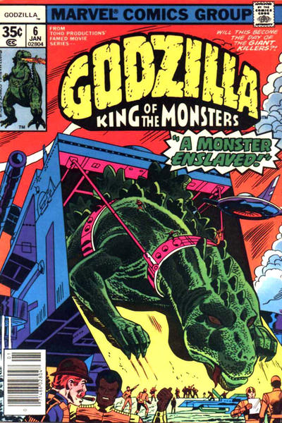Cover for Godzilla (Marvel, 1977 series) #6