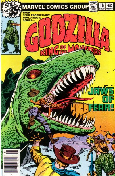 Cover for Godzilla (Marvel, 1977 series) #16