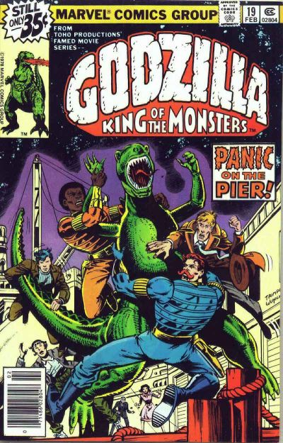 Cover for Godzilla (Marvel, 1977 series) #19