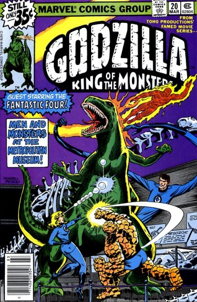 Cover for Godzilla (Marvel, 1977 series) #20