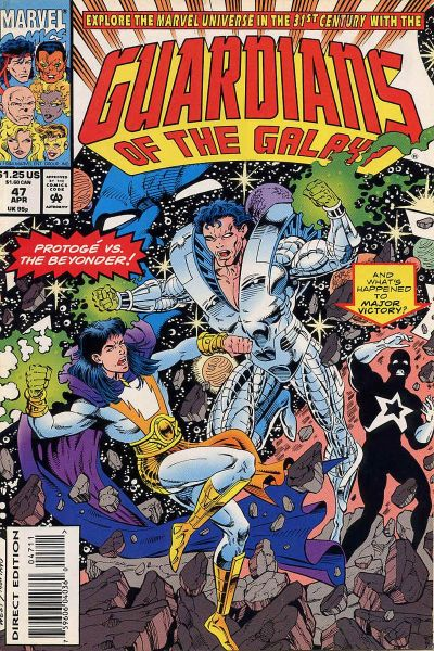 Cover for Guardians of the Galaxy (Marvel, 1990 series) #47