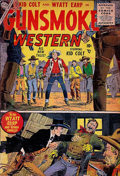 Cover for Gunsmoke Western (Marvel, 1955 series) #35