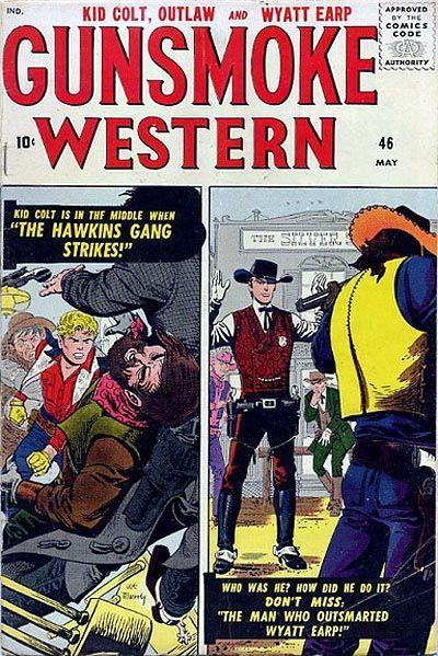 Cover for Gunsmoke Western (Marvel, 1955 series) #46
