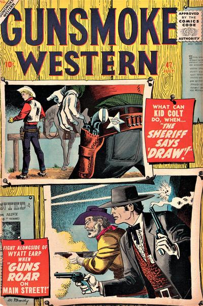 Cover for Gunsmoke Western (Marvel, 1955 series) #47
