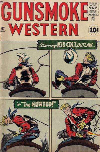 Cover for Gunsmoke Western (Marvel, 1955 series) #67