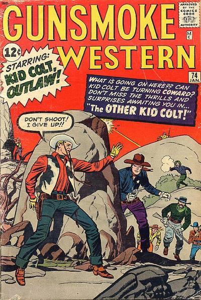 Cover for Gunsmoke Western (Marvel, 1955 series) #74