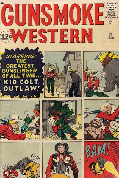 Cover for Gunsmoke Western (Marvel, 1955 series) #75