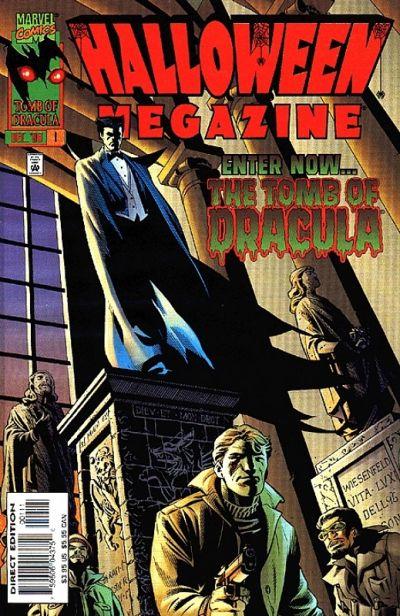 Cover for Halloween Megazine (Marvel, 1996 series) #1