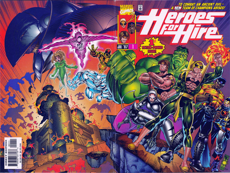 Cover for Heroes for Hire (Marvel, 1997 series) #1