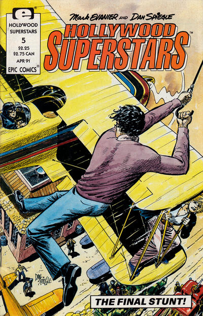 Cover for Hollywood Superstars (Marvel, 1990 series) #5