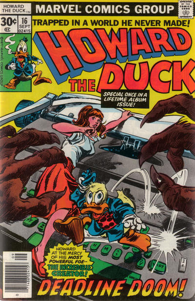 Cover for Howard the Duck (Marvel, 1976 series) #16 [30¢]