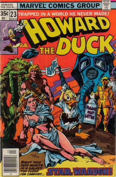 Cover for Howard the Duck (Marvel, 1976 series) #23 [Regular Edition]