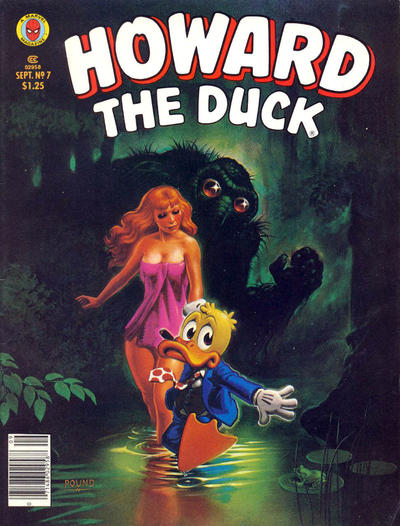 Cover for Howard the Duck (Marvel, 1979 series) #7