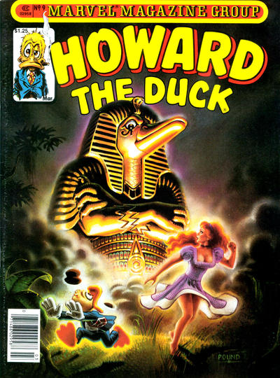 Cover for Howard the Duck (Marvel, 1979 series) #9