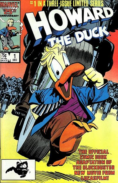 Cover for Howard the Duck: The Movie (Marvel, 1986 series) #1