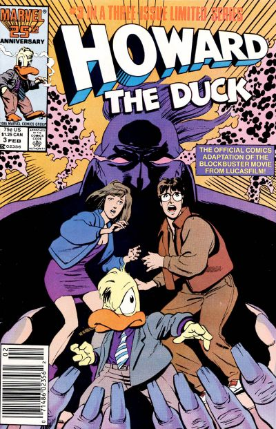 Cover for Howard the Duck: The Movie (Marvel, 1986 series) #3