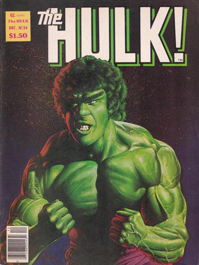 Cover for Hulk (Marvel, 1978 series) #24
