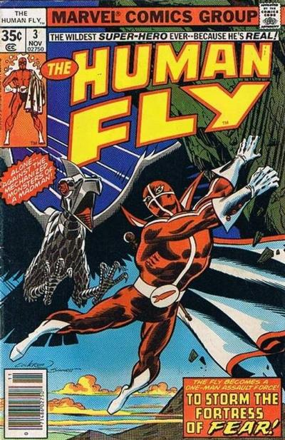 Cover for The Human Fly (Marvel, 1977 series) #3 [Regular Edition]
