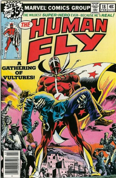 Cover for The Human Fly (Marvel, 1977 series) #18 [Regular Edition]