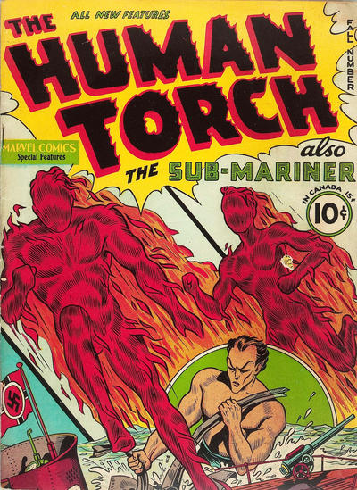 Cover for The Human Torch (Marvel, 1940 series) #2