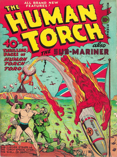 Cover for The Human Torch (Marvel, 1940 series) #5[a]