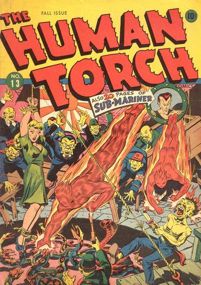 Cover for The Human Torch (Marvel, 1940 series) #13