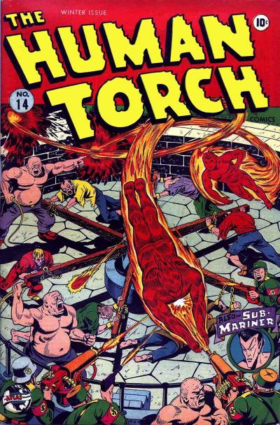 Cover for The Human Torch (Marvel, 1940 series) #14