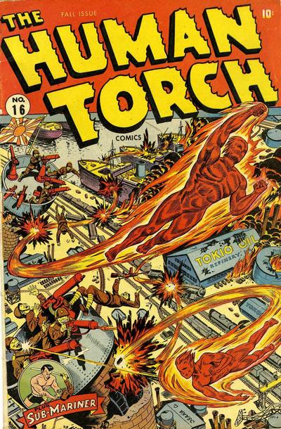 Cover for The Human Torch (Marvel, 1940 series) #16