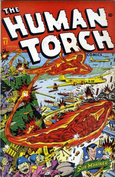 Cover for The Human Torch (Marvel, 1940 series) #17