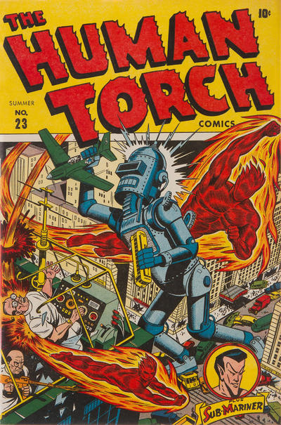 Cover for The Human Torch (Marvel, 1940 series) #23