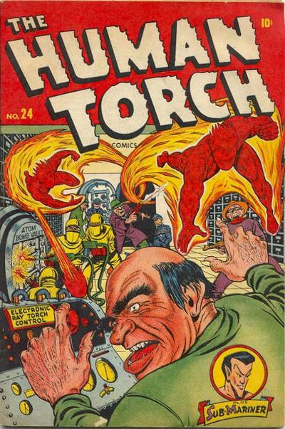 Cover for The Human Torch (Marvel, 1940 series) #24
