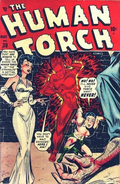Cover for The Human Torch (Marvel, 1940 series) #30