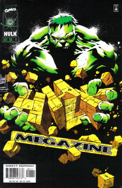 Cover for The Incredible Hulk Megazine (Marvel, 1996 series) #1