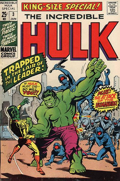 Cover for The Incredible Hulk Special (Marvel, 1968 series) #3