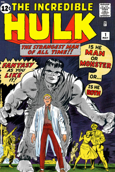 Cover for The Incredible Hulk (Marvel, 1962 series) #1 [Regular Edition]