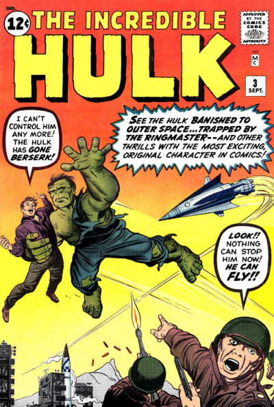 Cover for The Incredible Hulk (Marvel, 1962 series) #3 [Regular Edition]