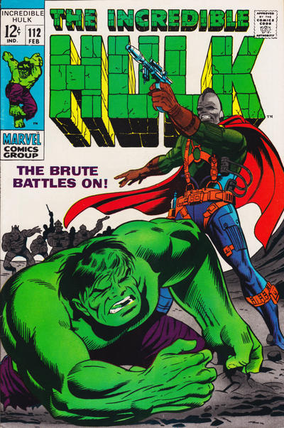 Cover for The Incredible Hulk (Marvel, 1968 series) #112