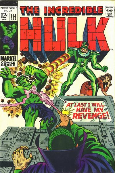 Cover for The Incredible Hulk (Marvel, 1968 series) #114