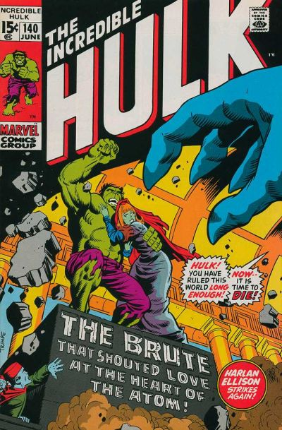 Cover for The Incredible Hulk (Marvel, 1968 series) #140 [Regular Edition]