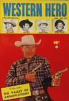 Cover for Western Hero (Fawcett, 1949 series) #112