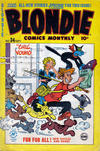 Cover for Blondie Comics Monthly (Harvey, 1950 series) #34